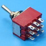 su-3pole 9 sul Pin Miniature Toggle Switch (MTS-302)