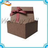 Rectángulo de regalo de empaquetado de la presentación de la cartulina directa de la fábrica