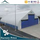 Conception de TFS haute performance Structure de tous les temps Curve Roof Aircraft Hangar avec flexible Hangar Gate