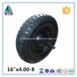 Schwarzes Stahlkante-Luft-Gummi-Rad