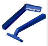 Preiswertes wegwerfbares Rasiermesser-Zwilling-Blatt, das Rasiermesser (SL-3009, rasiert)