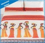 5部分のアフリカの種族デザインポリエステル慰める人セット