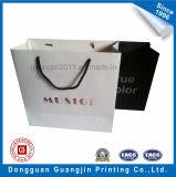 Haute Qualité Matt laminé sac de papier commercial avec Golden Logo