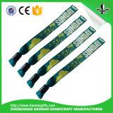 Wristband su ordinazione del tessuto per il partito