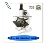 Microscopio biológico educativo económico de Bz-100c
