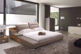 침실 사용 (B008)를 위한 Bed 특별한 가죽 임금