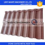 O telhado cerâmico ondulado de alumínio do metal cobre telhas