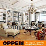 Oppein Luxury Solid Wood House Living Room Mobiliário doméstico (OP15-HS9)