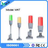 Indicatore luminoso di indicatore giallo rosso della macchina dell'indicatore luminoso/CNC dello stroboscopio di verde LED di M4t mini
