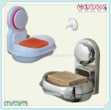 Support faisant le coin de savon de salle de toilette avec l'assiette de savon en plastique amovible