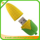 Выдвиженческой приводы вспышки USB PVC подарков 3D подгонянные резиной (SLF-RU025)