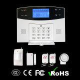 Caldo! ! ! Sistema di allarme senza fili di GSM con lo Spagnolo/Russia/voce rapida francese/inglese