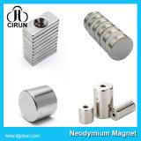 Kundenspezifischer Block-Platten-Ring-Form-seltene Massen-Neodym-Magnet