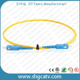 Cavi di zona ottici con poche perdite della fibra di Sc/Upc (SC/UPC)