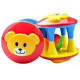 Nettes Teddybär-Geklapper-Plastikspielzeug für Kinder haben Spaß