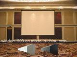 """16: 9 300 """" grandes projetores/telas de projeção elétricos"""