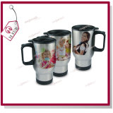 14oz Sublimation Edelstahl Full Sliver Color Mug mit Lid