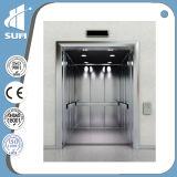 Ascenseur hydraulique de passager de cabine d'acier inoxydable de délié