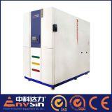 Équipement de laboratoire d'essai de choc thermique de Deux-Zone avec la température rapide de changement