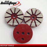 Concrete Polishing를 위한 20# 연약한 Bond Diamond Metal Grinding Pad