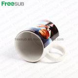 Tazas de café de cerámica de la sublimación en blanco al por mayor de Freesub (SKB-01)