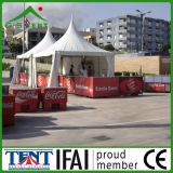 Big Top jardín de aluminio Exposición Carpa Gazebo 6x6m estructura de la tienda