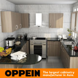 Oppeinの現代的な高品質Uの形のメラミン木製の食器棚(OP15-M03)