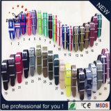 Vigilanza di nylon del quarzo della manopola del braccialetto di vigilanza della cinghia di stile di Dw di modo (DC-7903)