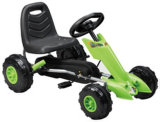 子供のペダルの乗車は膨脹可能な車輪によって行くKart