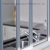 熱絶縁体の熱壊れ目のアルミニウムガラス窓(FT-W85)