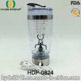 熱い販売のプラスチック渦のシェーカーのびん、プラスチック電気蛋白質のシェーカーのびん(HDP-0824)
