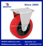 Light Duty tipo rigido Rosso PU Caster