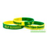 Popular al por mayor de Nigeria realzado/Wristband de Debossed