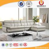 Nuevo sofá elegante moderno de la sala de estar del diseño 2016 fijado (UL-X8041)