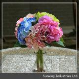 Garten-dekorativer bunter Natur-künstliche BlumeWreath