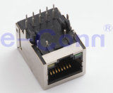 Одиночные Port магнитные модульные Jacks, Rj 45,