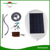 Lâmpada solar impermeável da segurança ao ar livre brilhante super nova do sensor de movimento do radar da luz da potência solar de 12 diodos emissores de luz para a rua do jardim