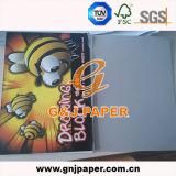 Papel blanco de calidad superior de la pintura para la producción del libro del bosquejo