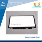 """Auo visualización del LCD de la computadora portátil del interfaz Lvds 1600*900 B140rtn03.2 40pin 14 """""""