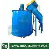 플라스틱 재생 선을%s 100-200kg/H 마찰 세탁기 그리고 증기 세탁기