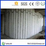 Panneau de mur augmenté de mousse de styrol de sandwich à polystyrène de matière première première d'ENV