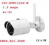 mini cámara del punto negro de 1.3MP Dwdr/Awb/AGC/Blc HD Wi-Fi IR {Ipc-Hfw1120s-W}