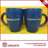 tasse de café en céramique de forme blanche du remboursement in fine 12oz pour le cadeau promotionnel
