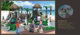 Установленная спортивная площадка детей серии пущи Kaiqi среднего размера (KQ50011B)
