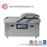 De dubbele Machine van de Verpakking van de Zeevruchten van het Vlees van de Kamer Vacuüm (dzq-6002SA)