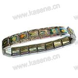 Metalluhr-Kette, Legierungs-Heilig-Rosenbeet-Armband