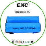 充電電池18650 2600mAh 3.7V電池18650 2600mAh電池セル