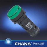 22mm Beschermde Dubbele LEIDENE van de Kleur Lamp met Ce en Goedkeuring RoHS