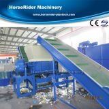 HDPE de LandbouwLijn van het Recycling van de Was van de Film