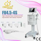 Matériel orienté de forte intensité portatif de beauté d'ultrason de Fu4.5-4snewest Hifu